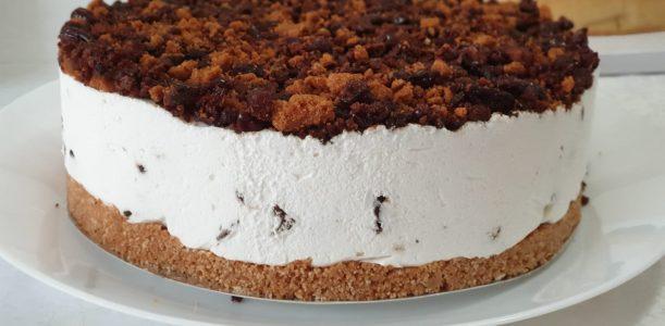 עוגת מסקרפונה פקאן טבעונית